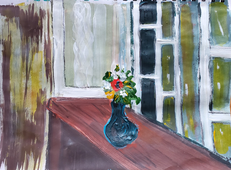 Vase by window2