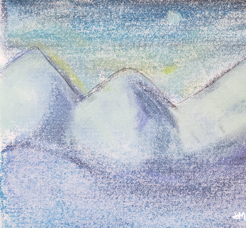 Snow mountain1
