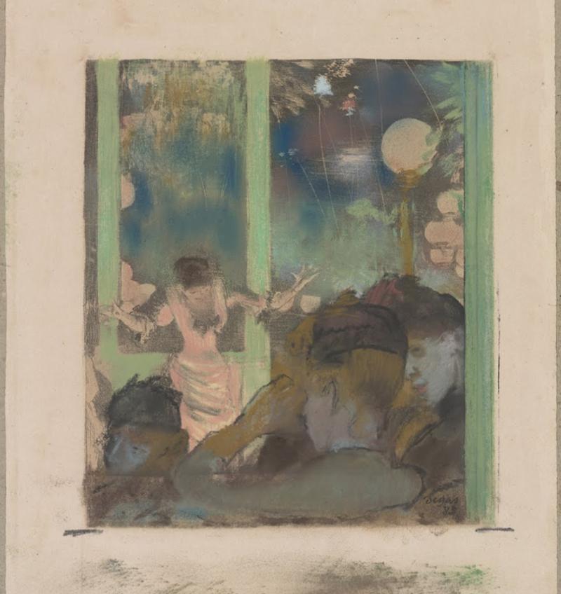 Degas-dancer