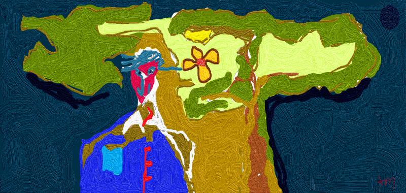 Man-flora